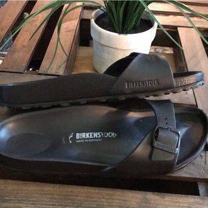 Birkenstock Shoes - Birkenstock Madrid Eva black